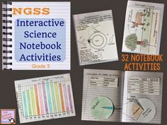 The Science Penguin: Grade 5 NGSS Science Notebook $ (32 activities to help students complete the Performance Expectations)