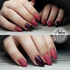 matte berry nude005 semilac