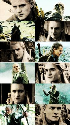 Legolas during the Original The Lord of the Ring Trilogies