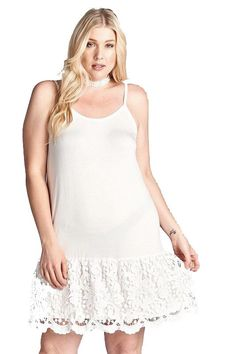319dff7cfb73b Ivory Dress Extender (CURVY) ALMOST GONE FOR GOOD. Ivory Dress Extender - Plus  Sizes