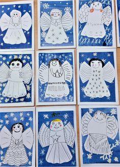 Holy Cross, Winter Kids, Elementary Art, Craft Activities, Christmas Art, Advent, Decoration, Art Drawings, Art Projects
