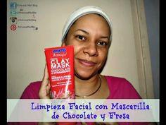 MI LIMPIEZA FACIAL CON MASCARILLA DE CHOCOLATE Y FRESA