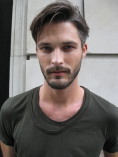 Naturally Scruffy young Man with Beard .n.