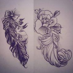 Making some sketches for tomorrow #sketch #tattoodesign #rosetattoo #rose #feather #feathertattoo #bow #art #drawing #tattooart #turkutattoo #soulskintattoo
