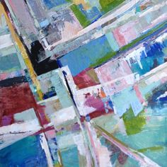 abstract painting // Jenny Vorwaller
