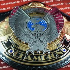 OVW – Ohio Valley Wrestling Heavyweight Title | Top Rope Belts Awa Wrestling, Ohio, Belts, Champion, Top, Belt, Crop Tee, Blouses