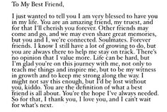 Best Friend sayings and Inspirational quotes lds Happy Birthday Best Friend Quotes, Best Friend Texts, My Best Friend Quotes, Besties Quotes, Guy Best Friend, Birthday Wishes Quotes, Best Friend Quotes Distance, Best Friend Birthday Letter, Best Friend Messages
