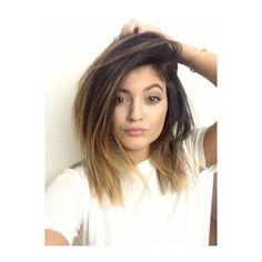 Kylie Jenner Short Ombre Hair