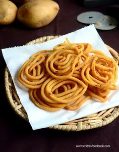 Potato murukku recipe