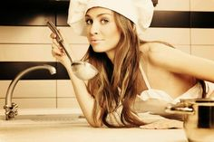 Sexy In The Kitchen: What Is Better Than A Housewife? Paleo Diet Book, Valentine Day Gifts, Valentines, What Men Want, Girl Cooking, Cooking Tips, Red Butterfly, Single Women, Cool Kitchens