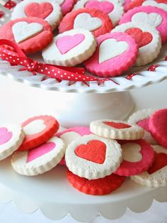 Munchkin Munchies: Two-Tone Heart Cookies