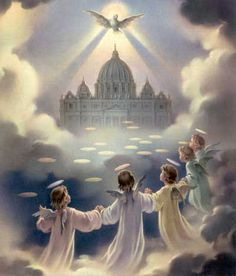 I believe in the Holy Spirit, the holy Catholic Church, the Communion of Saints.