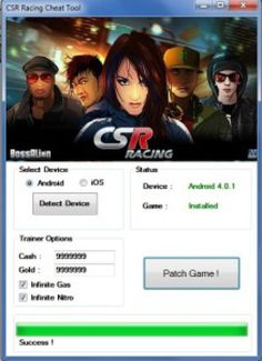 "Csr Racing Hack Cheat Engine No Survey ""Android | iOS"""