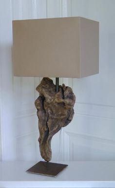 Treibholzlampen und Objekte Elke Paus