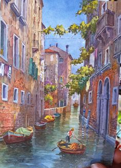 Aquarel Venezia