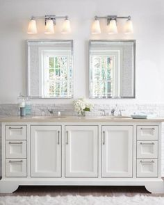 FREE SHIPPING. Purchase the transitional 3 light Monterro Vanity Light in Chrome with Clear Seeded Bell Glass Shades for your bathroom lighting today at lightingconnection.com. Feiss VS24703CH