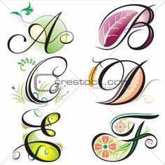 Cursive Alphabet, Hand Lettering Alphabet, Alphabet Design, Calligraphy Alphabet, Creative Lettering, Lettering Design, Letter B Tattoo, Schrift Design, Doodle Art Letters