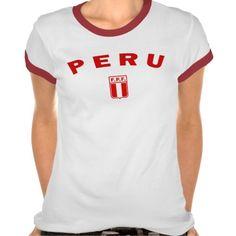 Camisa del campanero del fútbol de Perú FPF