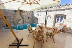 Kroatien Istrien (Nahe Krbune) - Innenhof mit Pool  Ferienhaus - Ref. 160284-20