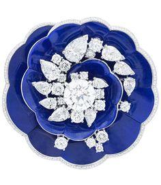 Van Cleef & Arpels: Fleur de lapis-lazuli