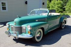 Summer time wheels. Cadillac Convertible 1941
