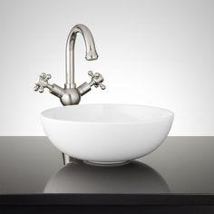 Jellbeck Porcelain Wall Mount Sink Wall Mounted Sink