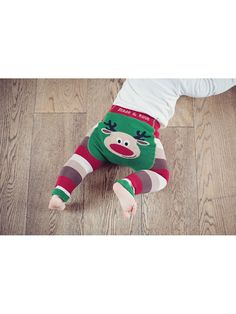 Get in the Christmas spirit with these fun Rudolph leggings. Chunky red, coffee, latte and cream striped leggings with a red nose Reindeer on the bum. These are unisex baby leggings so ideal for boy or girl. Rudolph Christmas, First Christmas, All Things Christmas, Christmas Parties, Christmas Leggings, Christmas Stockings, Funky Baby Clothes, Blade And Rose, Red Nosed Reindeer