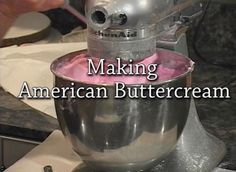 Buttercream and Cake Recipes