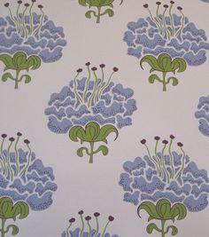 Katie Ridder wallpaper - Peony in blue