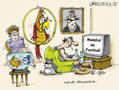 humor.quenalbertini: Comic Maenner und Frauen 'Fussball'