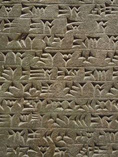 Cuneiform - The original written, transferrable  form of non-spoken communication and catelog of history.