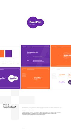 BrainPlus Biofeedback&Neurofeedback Identity on Behance