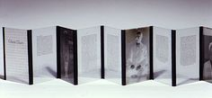 GHOST DIARY, 2001, Limited Edition artist's bookvintage glass negatives, transparencies, cloth,7 x 5 x 3 inches