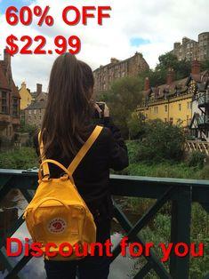 yellow and kanken image - Gelb Mochila Kanken, Kanken Backpack, Girl Photo Poses, Girl Photography Poses, Girl Poses, Travel Photography, Foto Top, Girls Dpz, Fashion Images