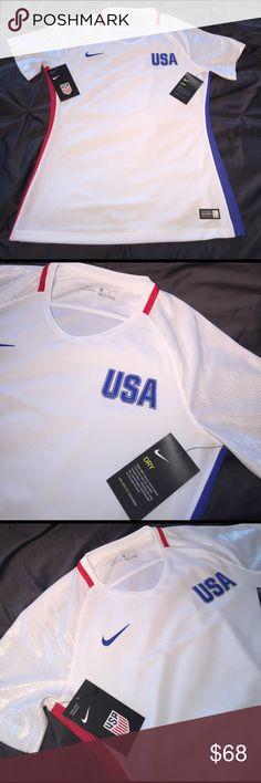 🏆Nike Team USA Dry Fit🏆 Nike Team USA Dry Fit  Authentic Women's Nike Tops Tees - Short Sleeve