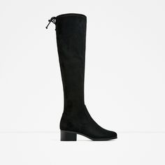 ZARA - WOMAN - FLAT OVER-THE-KNEE BOOTS