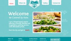 Catered by Kate, cute website, good gallery display.