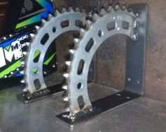 CBR 600 shelf brackets by MotoMetalFab on Etsy,