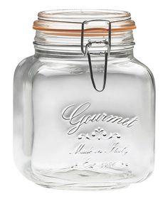 Another great find on #zulily! 'Gourmet' 58-Oz. Jar - Set of Six #zulilyfinds
