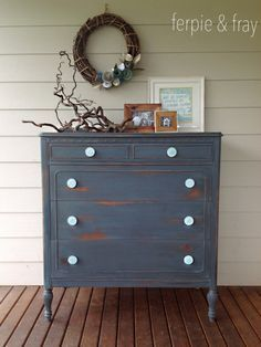 Real Milk Paint Google Search Gray Painted Furniture Distressed Colorful