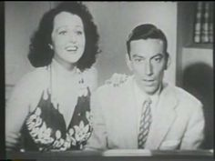 "Hoagy Carmichael & Dorothy Dandridge ""Lazy Bones"" 1941 - YouTube  I wish Dorothy Daindridge was singing as well as dancing, but she sure looks great."