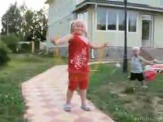 Life is clearly too fun to worry about consequences. | 11 GIFs That Are Completely Unfazed