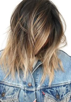 46 Pretty Little Ombre Colors for Short To Medium Haircuts 2018. Best shades of little ombre hair colors to wear with short to medium haircuts for 2018. Copy these best ideas of hair colors for your next salon appointment. We have collected in this some of the best hair colors that you may flaunt in this year to get the awesome hair looks. You may also wear ombre for celebrations.