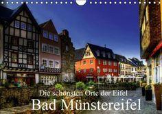 Entdecken Sie das besondere Flair des romantischen Eifelstädtchen in HDR. Bad Münstereifel ist ein historisches und romantisches Städtchen mit malerischen Fachwerkhäusern, schmalen Straßen und Gassen.