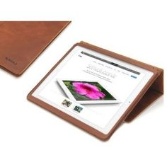 "Amazon.com: KAVAJ leather case ""Berlin"" for the Apple iPad mini cognac brown - genuine leather with stand-up feature: Computers & Accessories"
