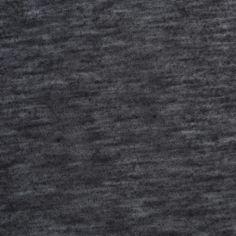 Heathered Black Cotton-Rayon Jersey Fabric by the Yard | Mood Fabrics