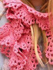 8 Free Crochet Patterns:  Crochet Scarves with Crochet Me