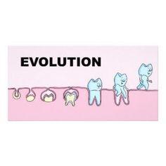 Evolution of the tooth's life.  -Norton Dental Arts #dentalhumor