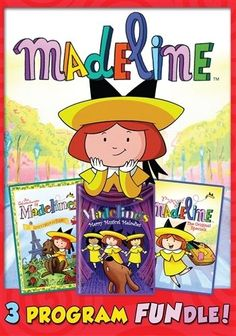 MADELINE COLLECTION New Sealed 3 DVD Set
