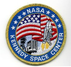 NASA patch for Kennedy Space Center